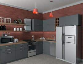#30 for Modern kitchen design, with elements of loft style. by achfoe