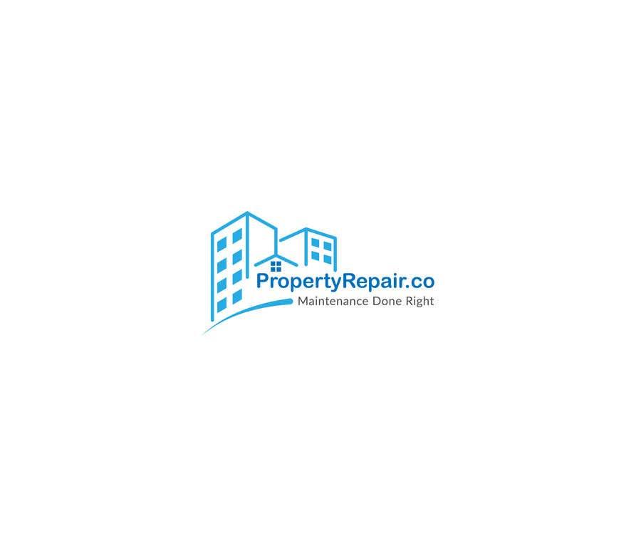 Penyertaan Peraduan #202 untuk Logo design for property repair