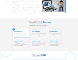 #29 for Redesign my landing page by agnitiosoftware