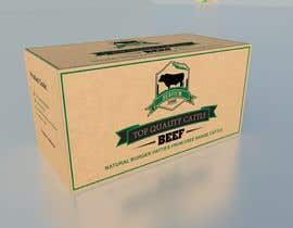 #12 para Design a meat pattie box por atidoria