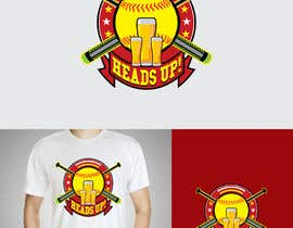 #50 untuk Logo designed for Baseball Team oleh fourtunedesign