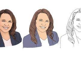 #5 for portrait illustrator af berragzakariae