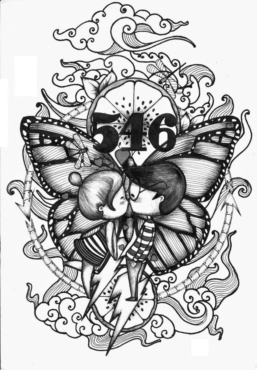 Kilpailutyö #58 kilpailussa Tattoo Design - 22/03/2019 22:37 EDT