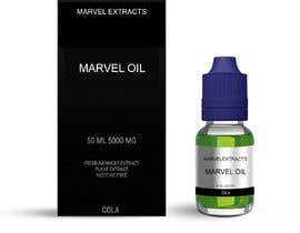 nº 1 pour Marvel oil box & bottle information placed on to just nic it box bottle, green liquid blue lid par ixsaiful