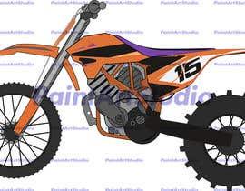 #3 for Illustration Motorbike by Shtofff