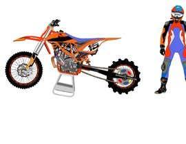 #10 for Illustration Motorbike by letindorko2