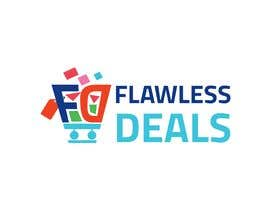 #72 untuk Re-design Illustrator file attached. Flawless Deals Logo Improvement oleh mbe5a58d9d59a575