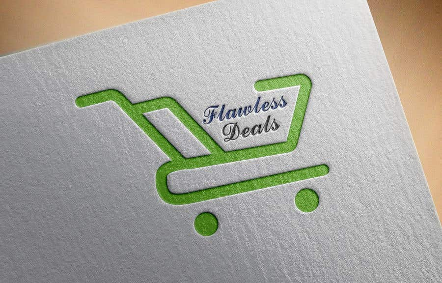 Penyertaan Peraduan #15 untuk Re-design Illustrator file attached. Flawless Deals Logo Improvement