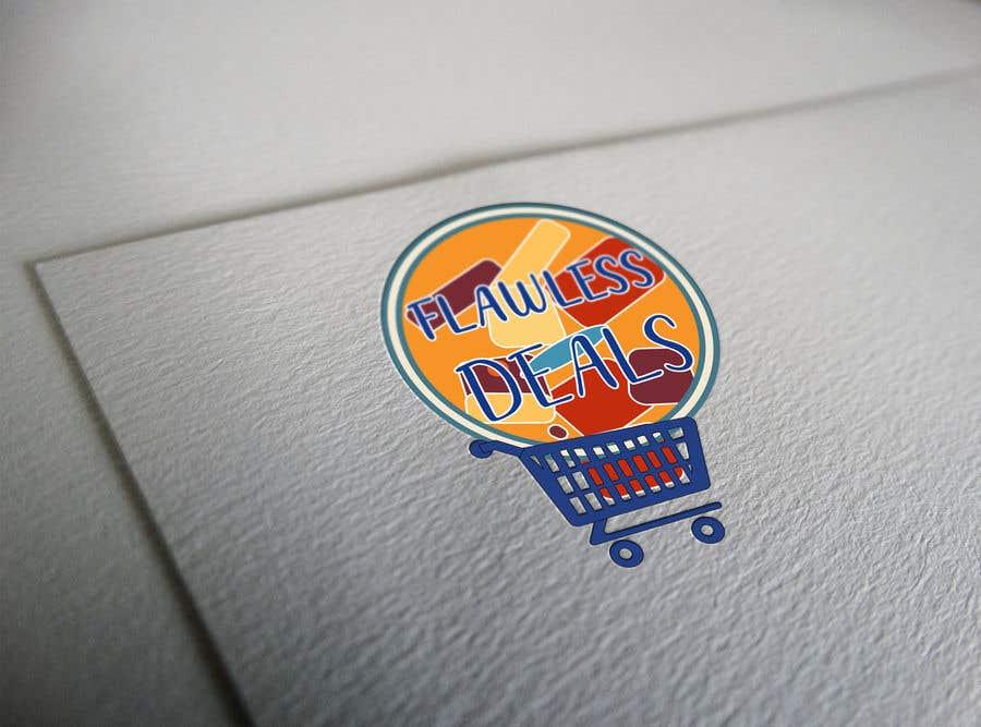 Penyertaan Peraduan #65 untuk Re-design Illustrator file attached. Flawless Deals Logo Improvement
