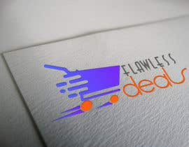 #74 untuk Re-design Illustrator file attached. Flawless Deals Logo Improvement oleh alamsagor