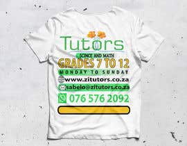 #43 for Beautiful T-shirt Design for private tutoring by mdalfazanmed1412