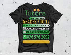 #45 for Beautiful T-shirt Design for private tutoring by mdalfazanmed1412