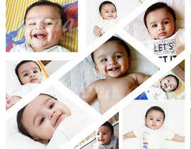 #53 for Wanted create a collage poster/frame for my baby boy (frame size 18'Inch x 24 inch/14inch x 18 inch) by Lorenaavlis