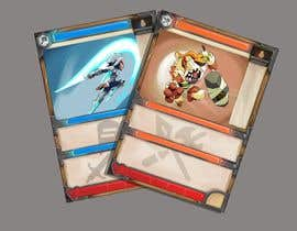 #58 for GUARANTEED :  Design and illustrate a template for my card game by amalonit
