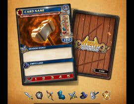 #46 for GUARANTEED :  Design and illustrate a template for my card game by AlekMarquez