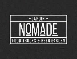 """#21 cho A partir del logo adjunto debe crear uno que incluye todo menos """"nro.170"""", """"mallinkrodt"""" cambia por """"nomade"""", """"craft beer"""" cambia por """"beer garden"""" es decir, incluir: jardin, Nomade, food trucks & beer garden bởi mariaperezart"""
