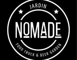 """#47 cho A partir del logo adjunto debe crear uno que incluye todo menos """"nro.170"""", """"mallinkrodt"""" cambia por """"nomade"""", """"craft beer"""" cambia por """"beer garden"""" es decir, incluir: jardin, Nomade, food trucks & beer garden bởi mariaperezart"""