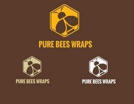 """#105 untuk Design """"Pure Bees Wraps"""" Logo and Box Design oleh Msun7"""
