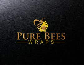 """#102 for Design """"Pure Bees Wraps"""" Logo and Box Design by mh743544"""