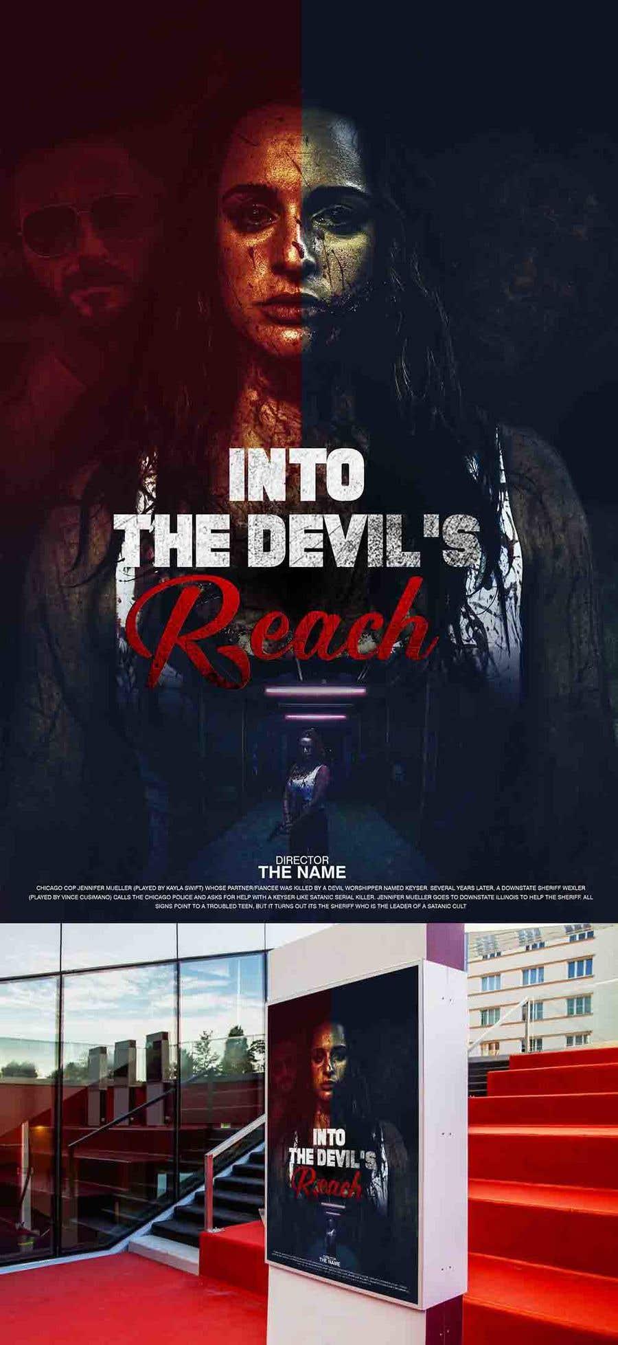 "Kilpailutyö #56 kilpailussa Create a Movie Poster for ""Into the Devil's Reach"""