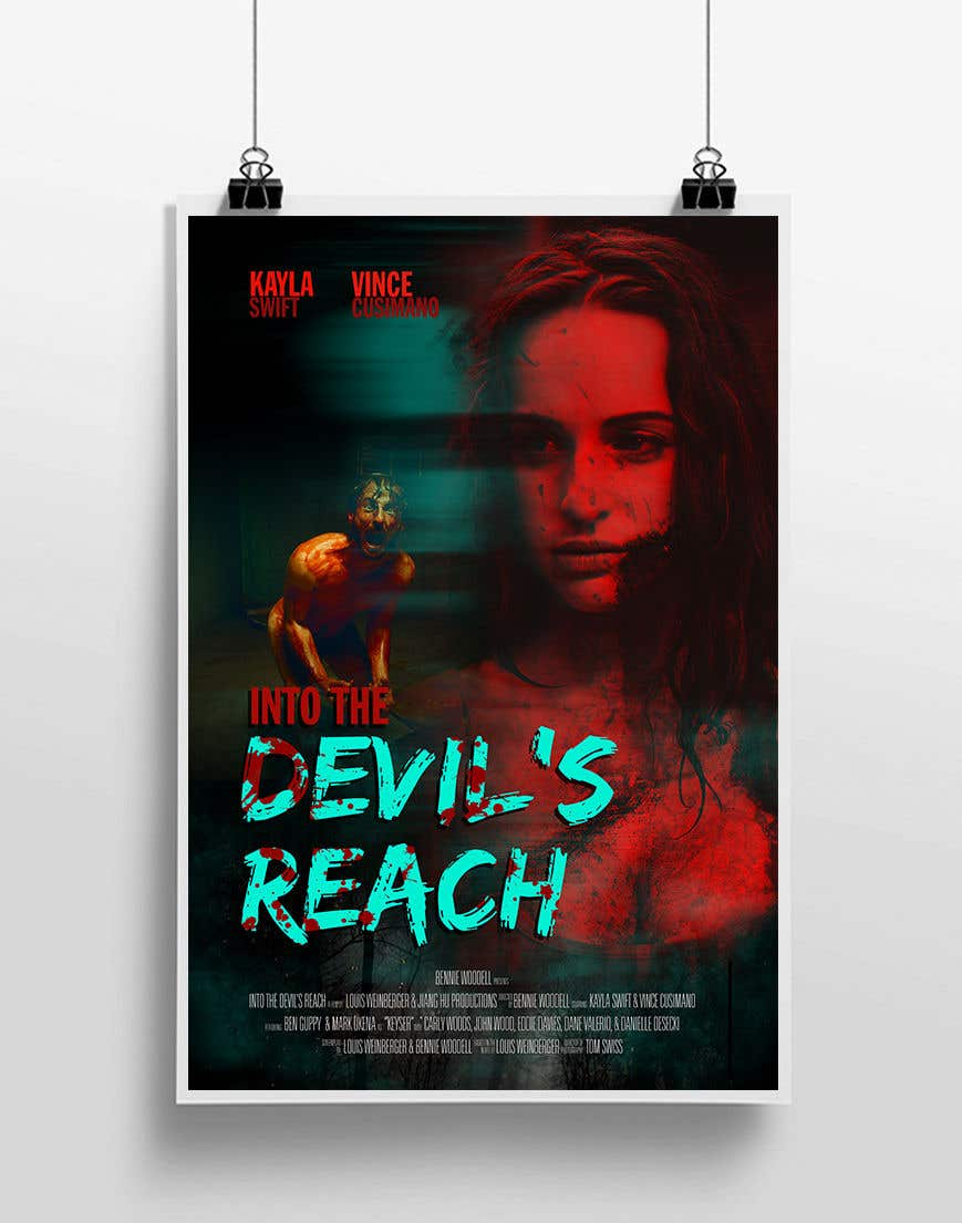 "Konkurrenceindlæg #53 for Create a Movie Poster for ""Into the Devil's Reach"""