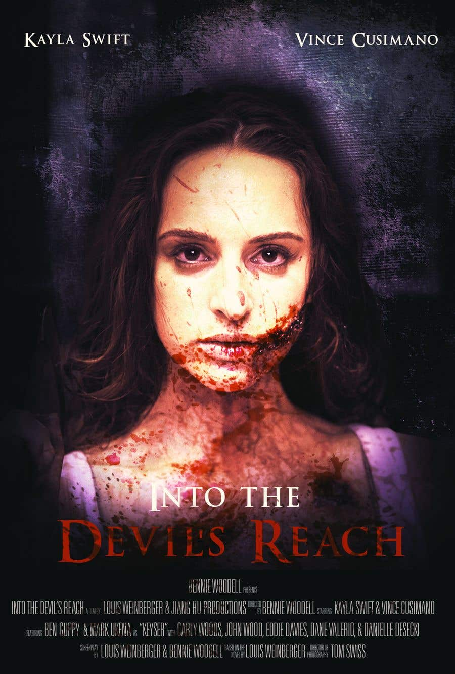 """Konkurrenceindlæg #89 for Create a Movie Poster for """"Into the Devil's Reach"""""""