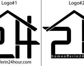#18 untuk a logo for my business called HomeOfferin24hrs.com.  We look for people that are looking to sell their house fast for cash.  we make a cash offer within 24 hrs after viewing.  we will buy the house in any and as-is condition oleh pay2manirampande