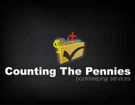 #112 para Logo Design for Counting The Pennies Bookkeeping Services por mOrer