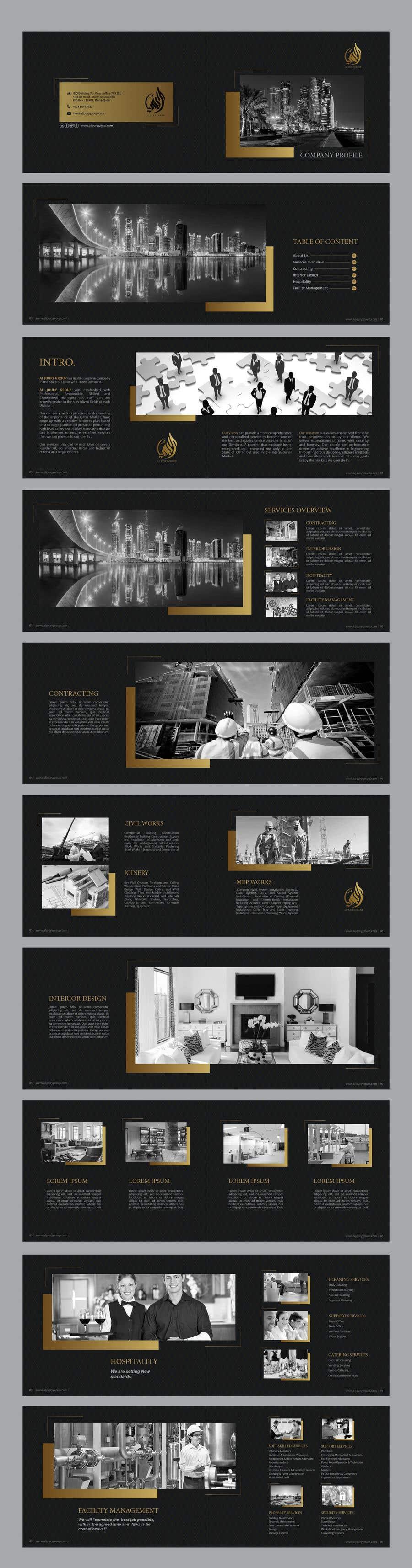 Design company's profile/brochure | Freelancer