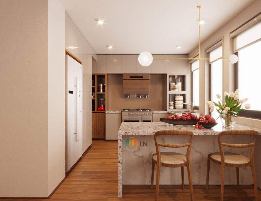 Penyertaan Peraduan #28 untuk Interior Design of our New Kitchen
