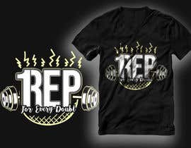 #182 for T-Shirt Design - 1 Rep by RibonEliass