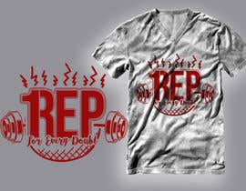 #183 for T-Shirt Design - 1 Rep by RibonEliass