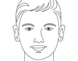 Nro 16 kilpailuun Draw a round face shape of a man käyttäjältä prantolatif