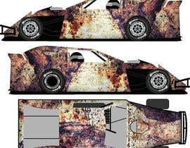 #9 untuk Wrap a car to look like rust oleh mousumi09