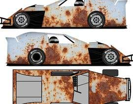 #12 untuk Wrap a car to look like rust oleh mousumi09