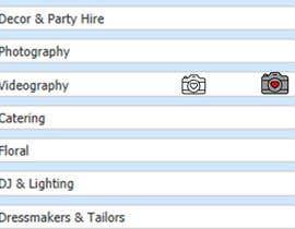 #1 untuk Design simple eye catching icons for Website oleh FAYJULLAH