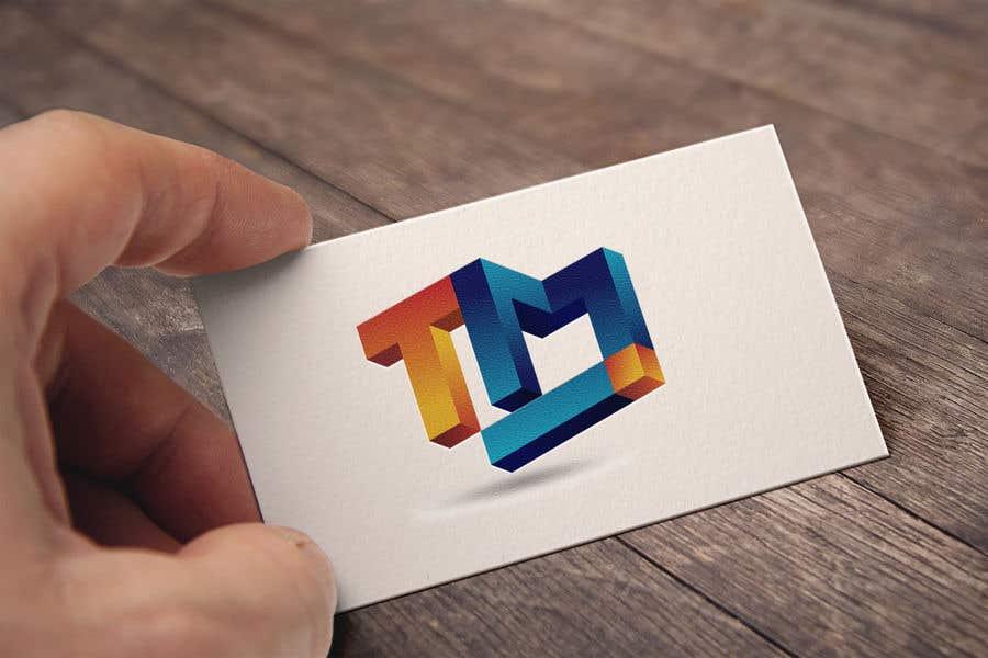 Kilpailutyö #68 kilpailussa A 3-letter 3D logo