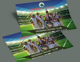 nº 23 pour Graphic Art - Cricket Club Flyer par omarhossain