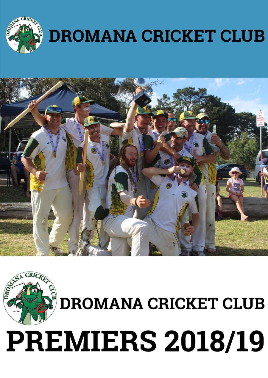 Konkurrenceindlæg #14 for Graphic Art - Cricket Club Flyer