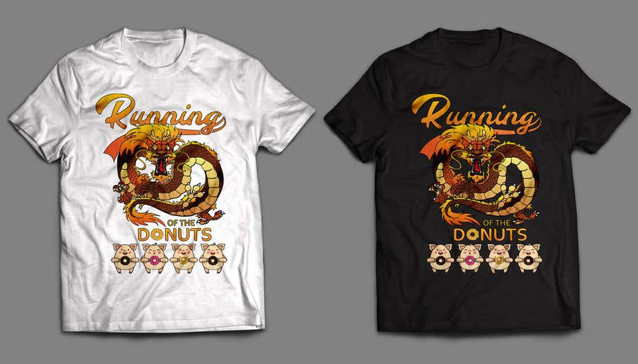 Konkurrenceindlæg #35 for Design a t-shirt for the 2019 Running of the Donuts