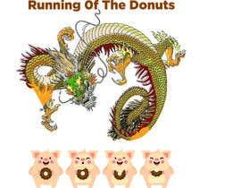 PSdesigner280 tarafından Design a t-shirt for the 2019 Running of the Donuts için no 29