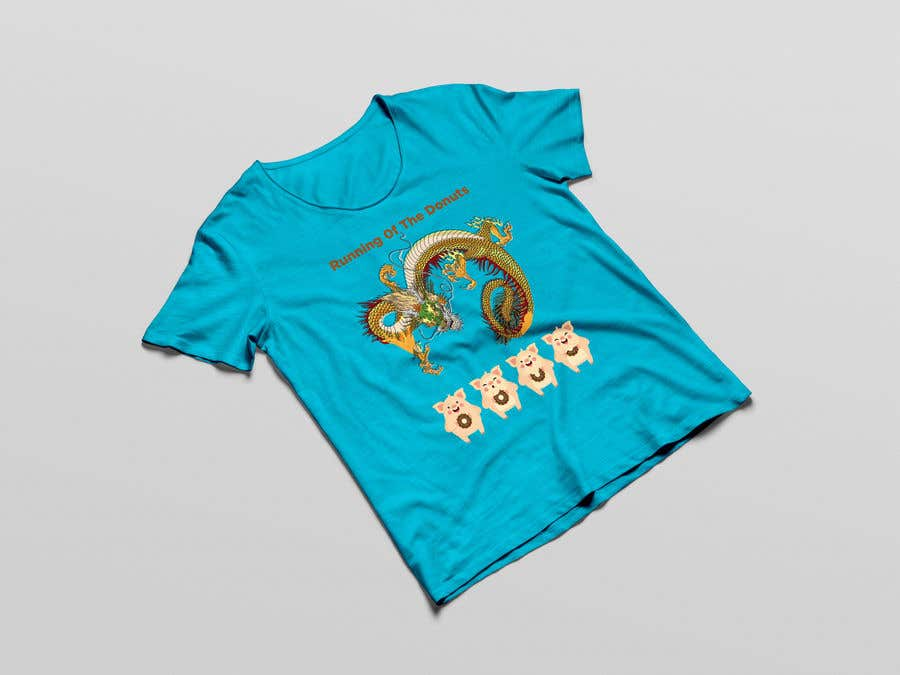 Konkurrenceindlæg #30 for Design a t-shirt for the 2019 Running of the Donuts