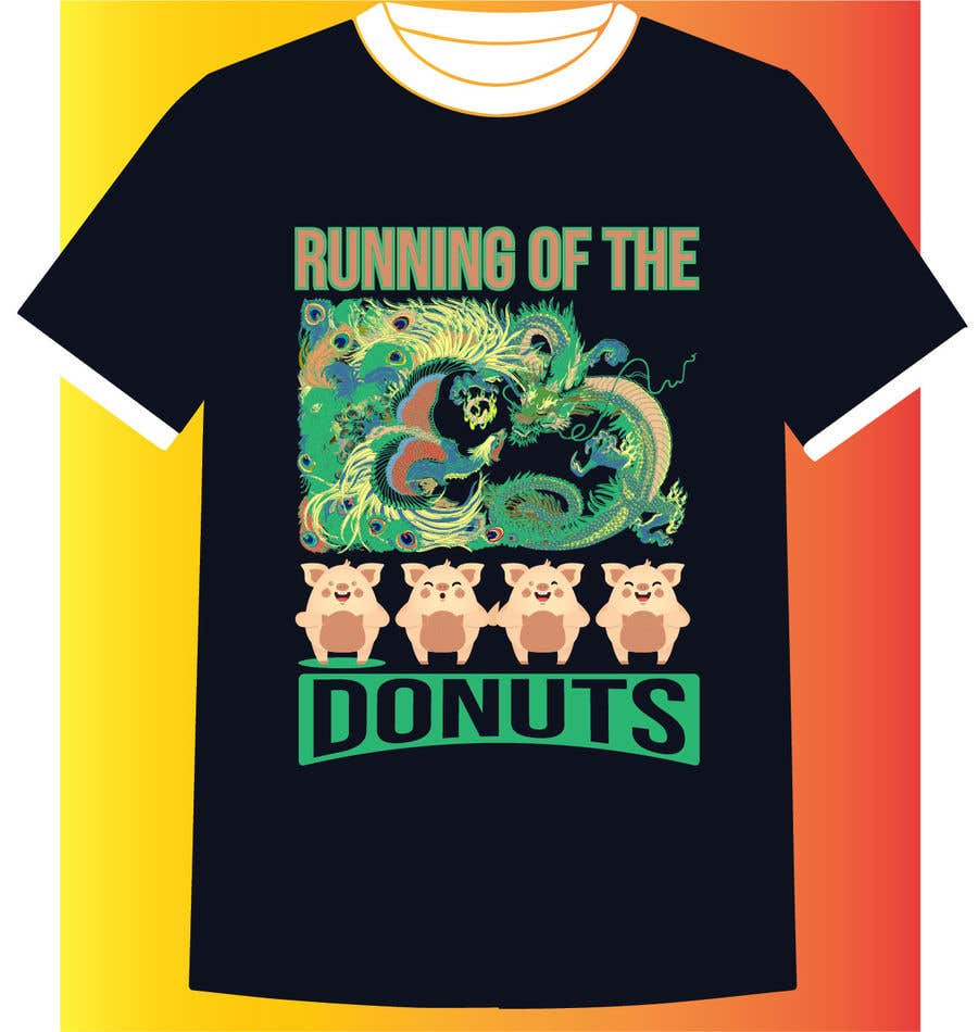 Konkurrenceindlæg #32 for Design a t-shirt for the 2019 Running of the Donuts