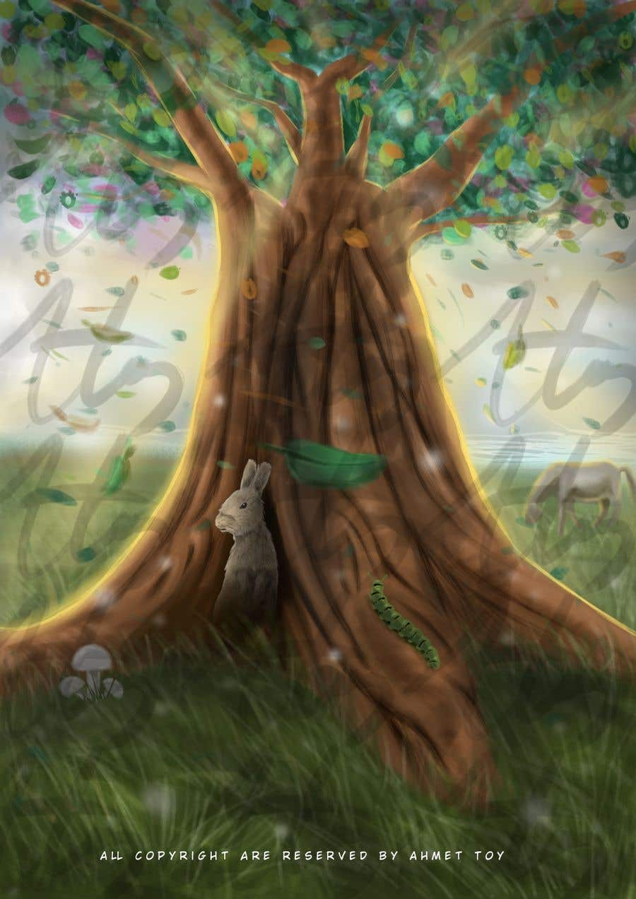 Proposition n°26 du concours Illustrate Tree for Card Back in a Game