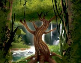 nº 17 pour Illustrate Tree for Card Back in a Game par irenkgov