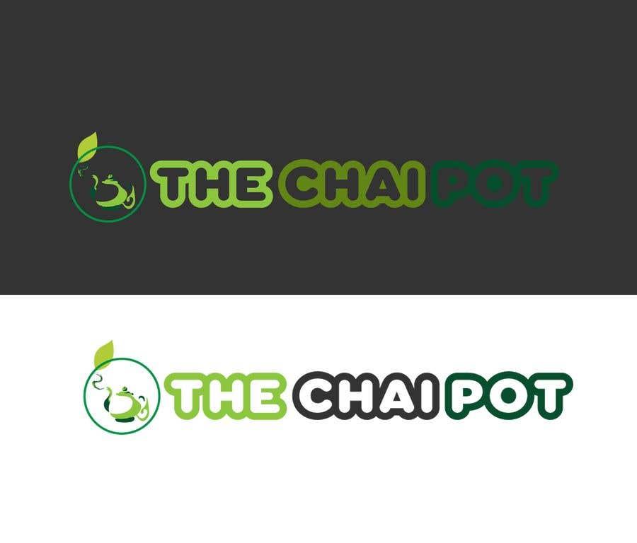 Kilpailutyö #129 kilpailussa Chai Pot Logo