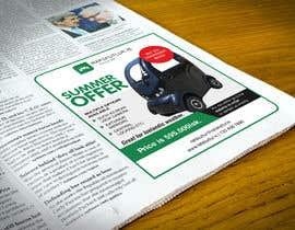 #24 pentru Graphic designing: Newspaper ad de către MDSUHAILK