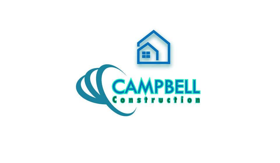 Penyertaan Peraduan #79 untuk Logo for Construction Business