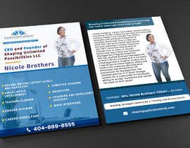 nº 26 pour Need 4 x6 (Standard Flyer) Created in HD  (Front & Back) par Shakib1801