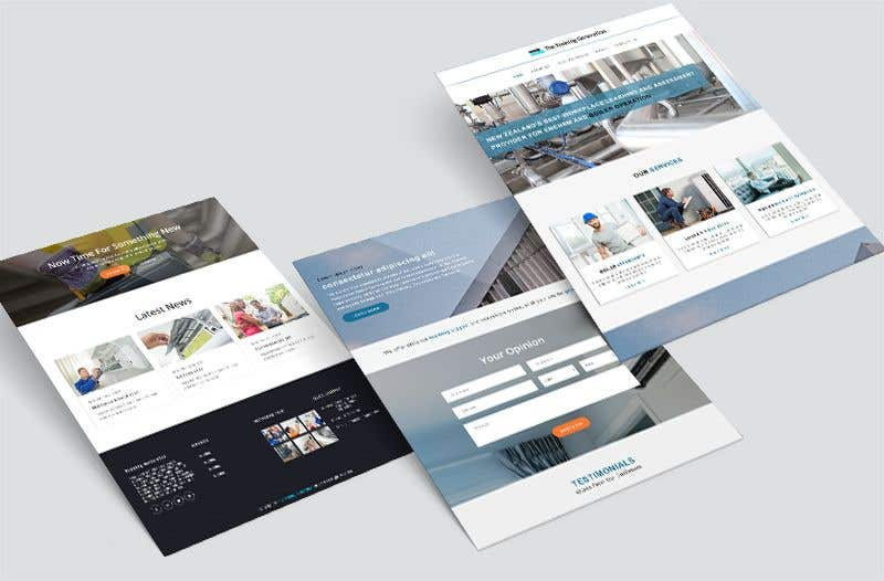 Proposition n°7 du concours Build a wordpress template and website